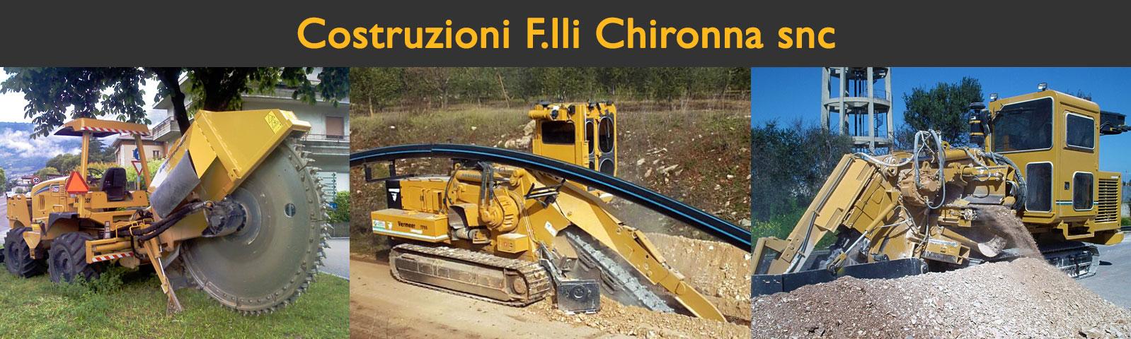 Costruzioni F.lli Chironna snc