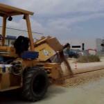 RTX-1250 scavo per posa fibra ottica
